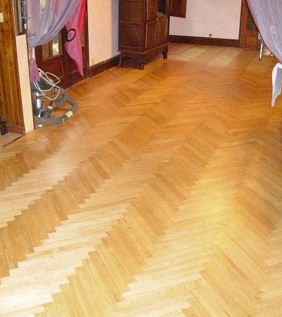Rénovation parquet baton rompu
