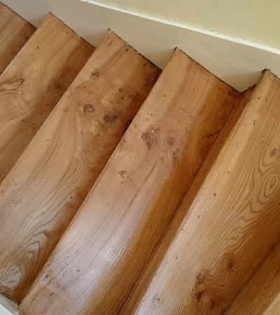 Rénovation escalier avec revêtement