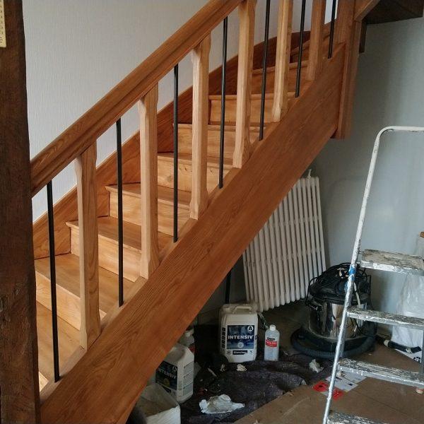 Vitrification Escalier